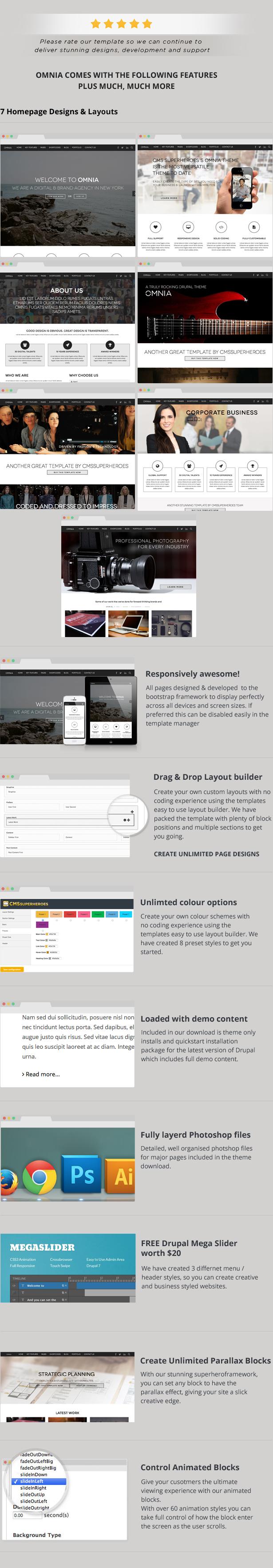 Omnia - Multi Purpose Agency Drupal Theme