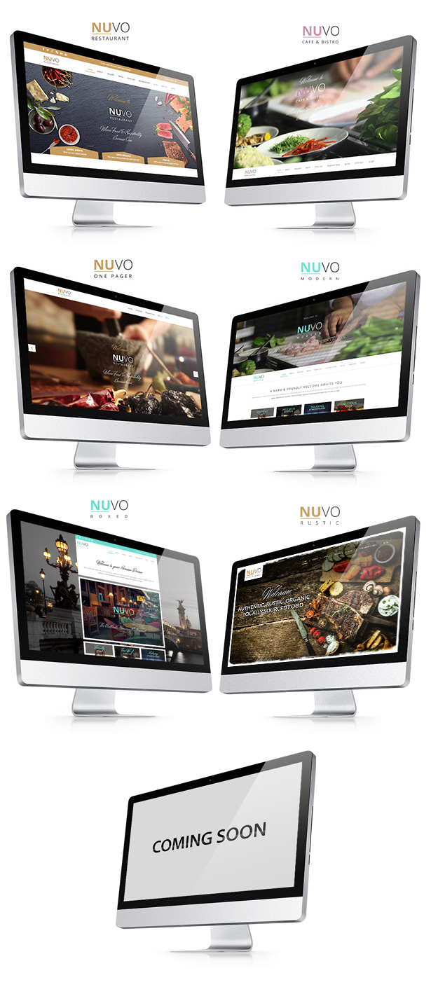 demo nuvo - Creatrix - Drupal Commerce, Multipurpose Theme