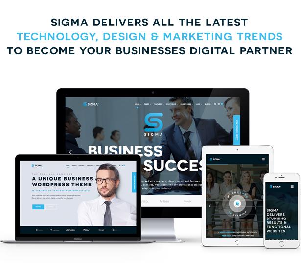 SIGMA   Business Multi-purpose & Latest Technology Responsive WordPress Theme - 5