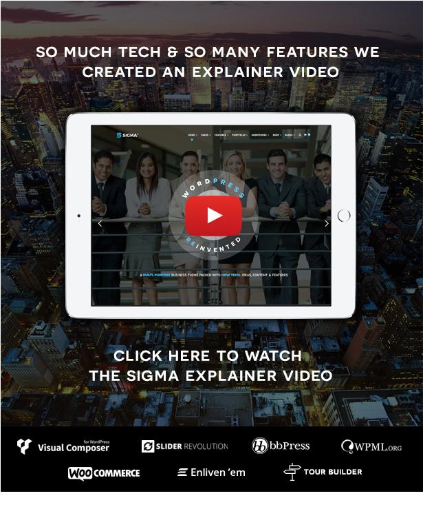 SIGMA | Business Multi-purpose & Latest Technology Responsive WordPress Theme - 6