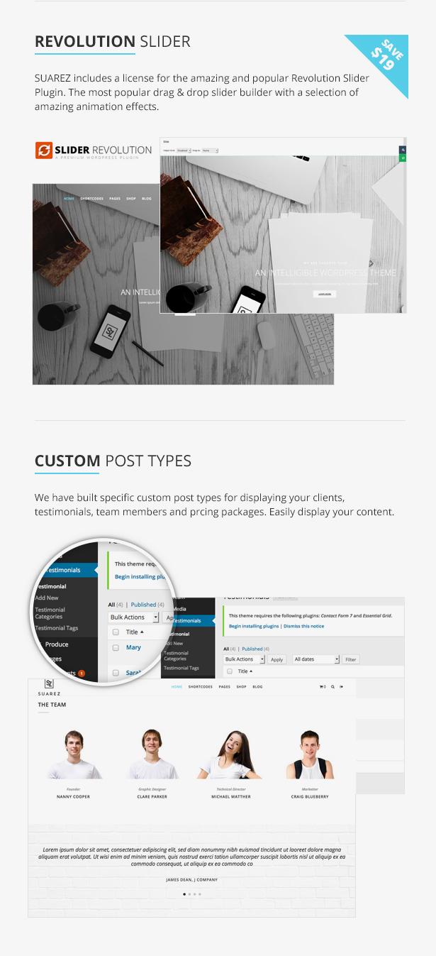 Suarez - Clean, Minimal & Modern Multi-Purpose WordPress Theme - 13