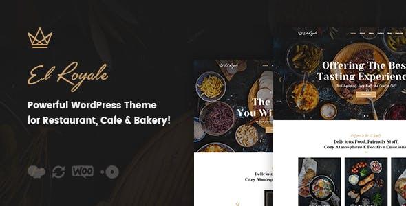 Elroyale - Tema WordPress Restoran & Kafe