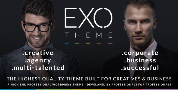 EXO | Creative & Corporate Specific Purpose Theme