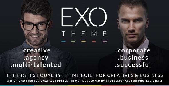 EXO |  Tema Tujuan Khusus Kreatif & Perusahaan