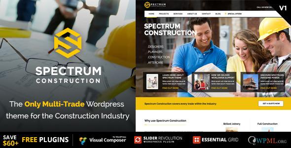 Spectrum - Tema Bisnis Konstruksi Multi-Perdagangan